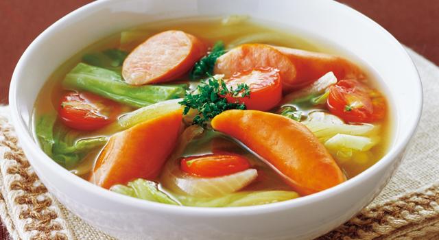 使い方いろいろ♪万能食材・ソーセージを使った低カロリーレシピ5選のサムネイル画像