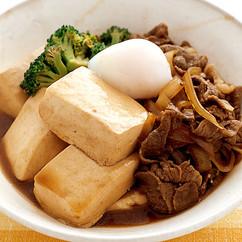 肉豆腐はダイエット中食べても平気?これがそのカロリーと栄養素だ!のサムネイル画像