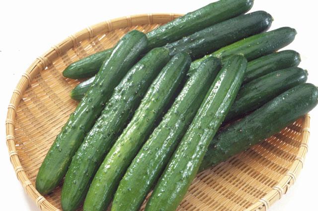 【きゅうりの栄養価】きゅうりを食べると、どんな健康効果がある?のサムネイル画像