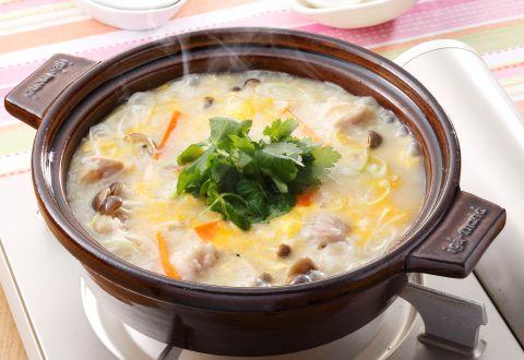 雑炊で簡単ダイエット!栄養満点体あったまる雑炊ダイエット!のサムネイル画像