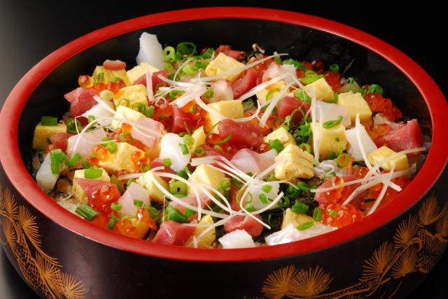 ひな祭りにはちらし寿司。女の子のお祭りで気になるそのカロリーは?のサムネイル画像