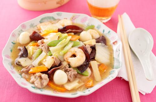 野菜たっぷり八宝菜、栄養満点だが、気になるのはそのカロリー!のサムネイル画像