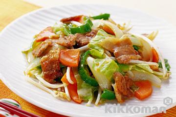 脂質をカット!たっぷりお野菜!低カロリーでおいしい野菜炒めのサムネイル画像