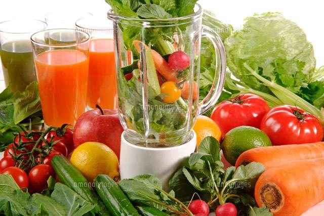 野菜ジュースをミキサーで作ろう!ポイントを押さえて効果的にのサムネイル画像
