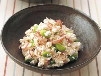 ご飯がすすむおかずにもなる!枝豆を使って低カロリーレシピ3選のサムネイル画像