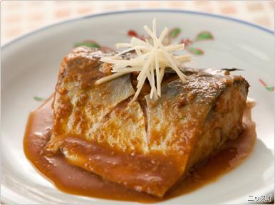 まさにおふくろの味の定番!鯖の味噌煮♪そのカロリーと栄養のサムネイル画像