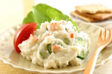 サラダといえばポテトサラダ!驚きのカロリーと栄養効果知ってる?のサムネイル画像