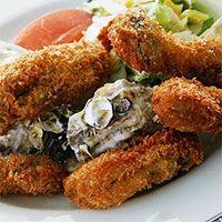 牡蠣料理の定番カキフライは太る?カキフライの栄養とカロリーは?のサムネイル画像